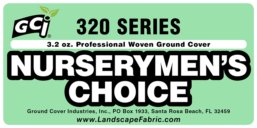 GCI 320 Series Nurserymen's Choice